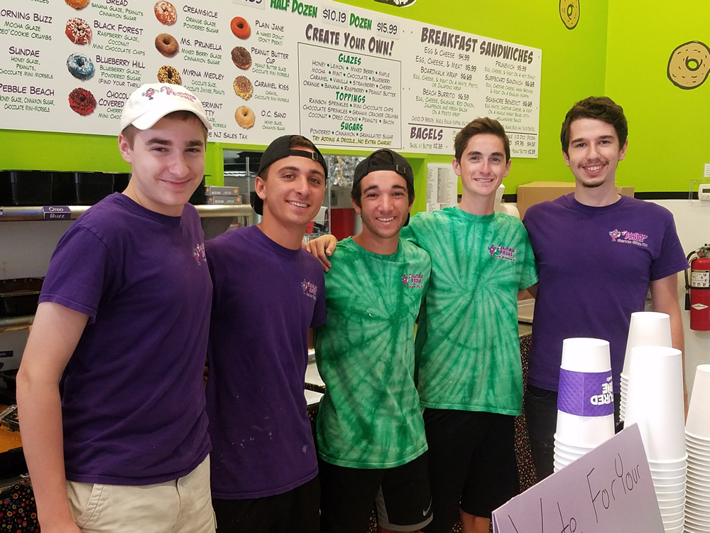 Join our team! Fractured Prune employees.